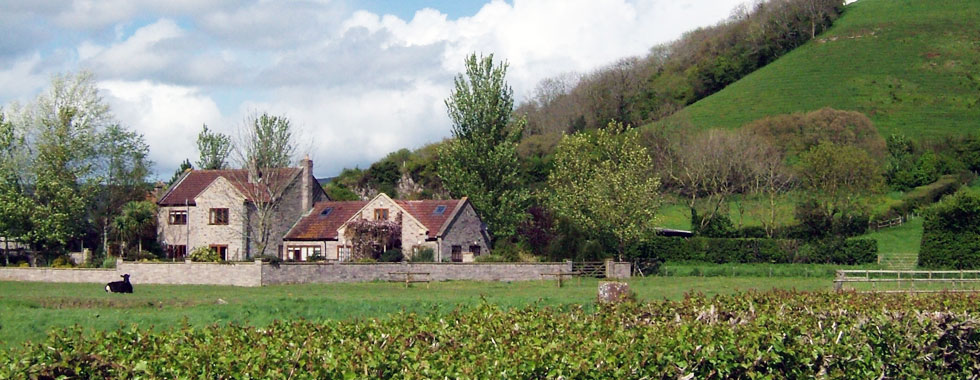 Somerset Hills and Tor farm Cottage