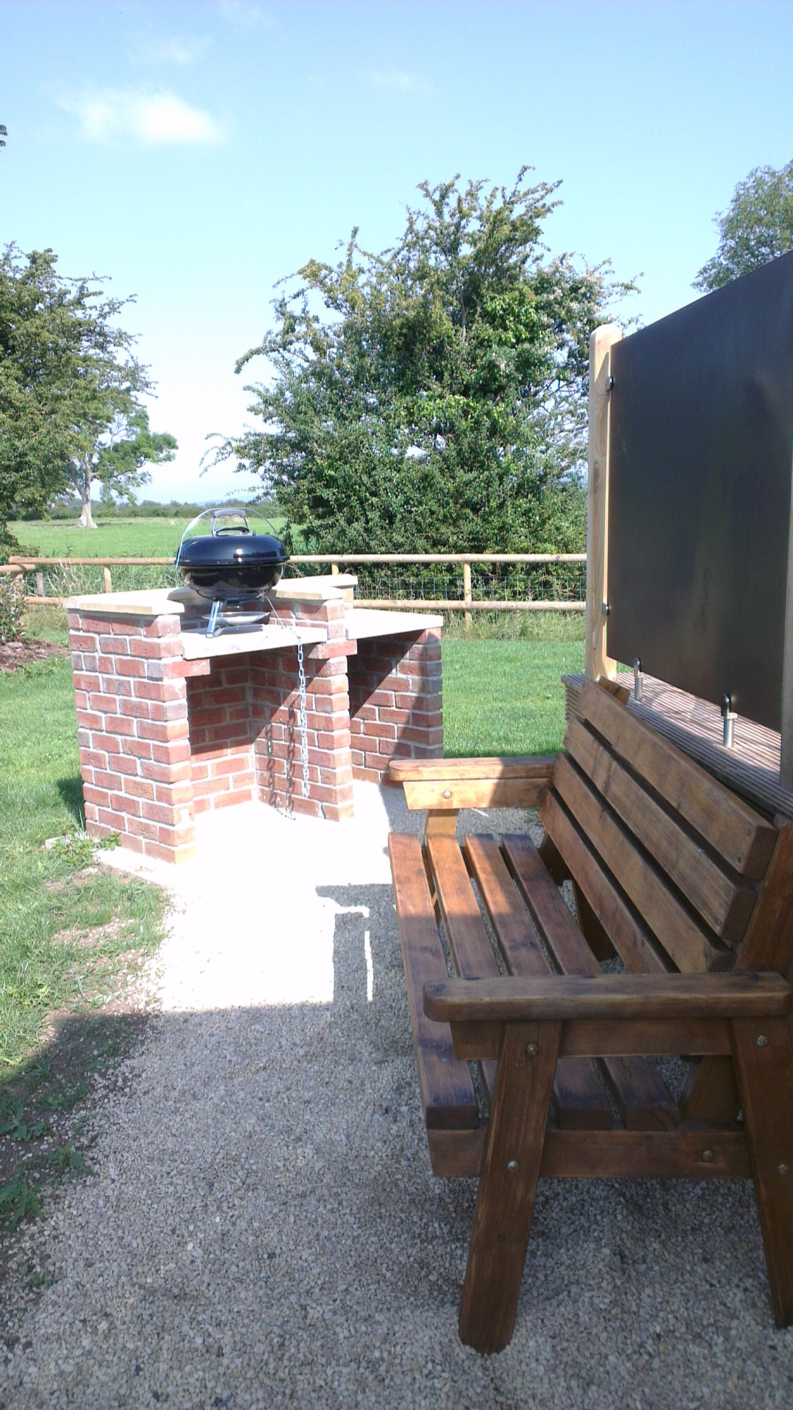Private BBQ Station